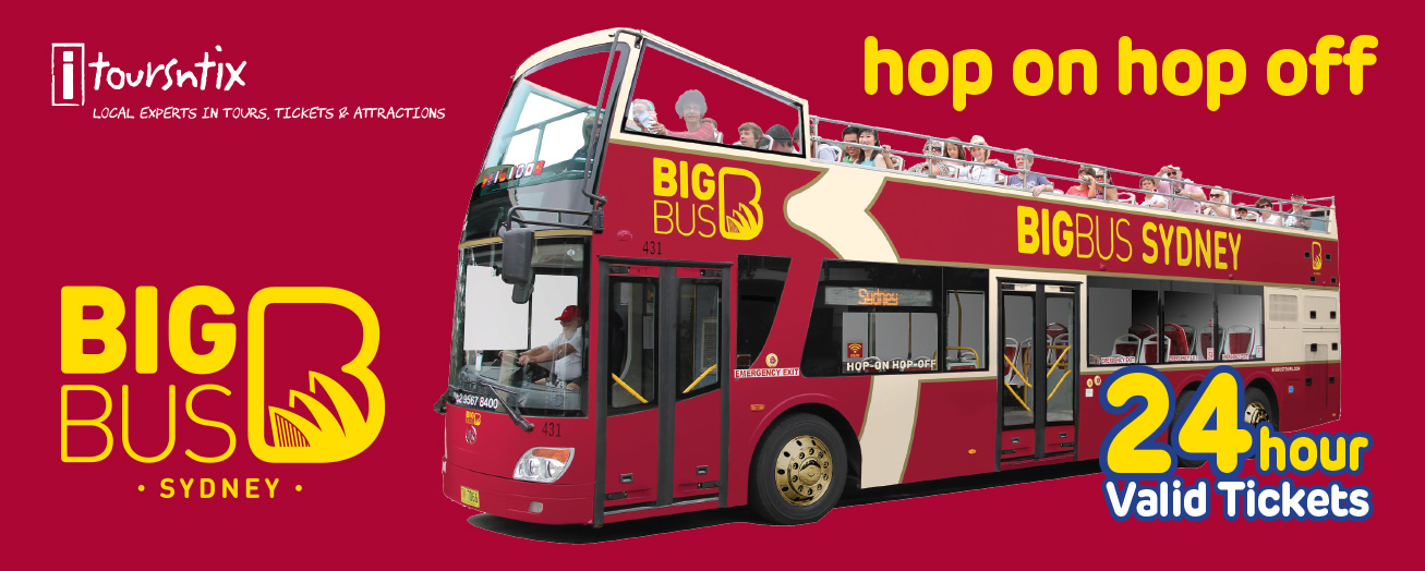 Big Bus Sydney - Hop on, hop off