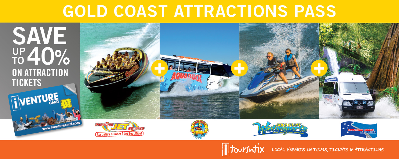 Attractions Pass - Gold Coast