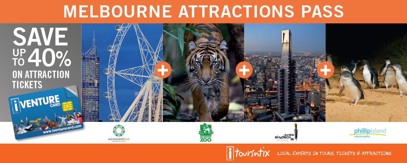 Attractions Pass - Melbourne